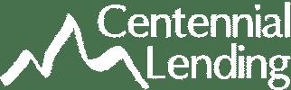 Centennial Lending Logo White